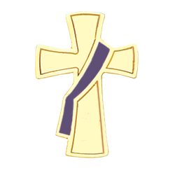 Deacon Lapel Pin - Purple