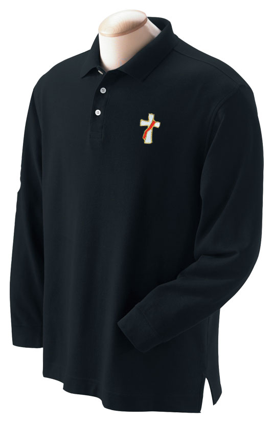 Deacon Polo Shirt | Long Sleeve | 10 colors