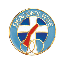 Lapel Pin - Deacon's Wife