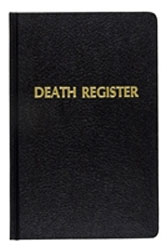 Death Record Book | Register | 6 x 9 | 500 entries | #192