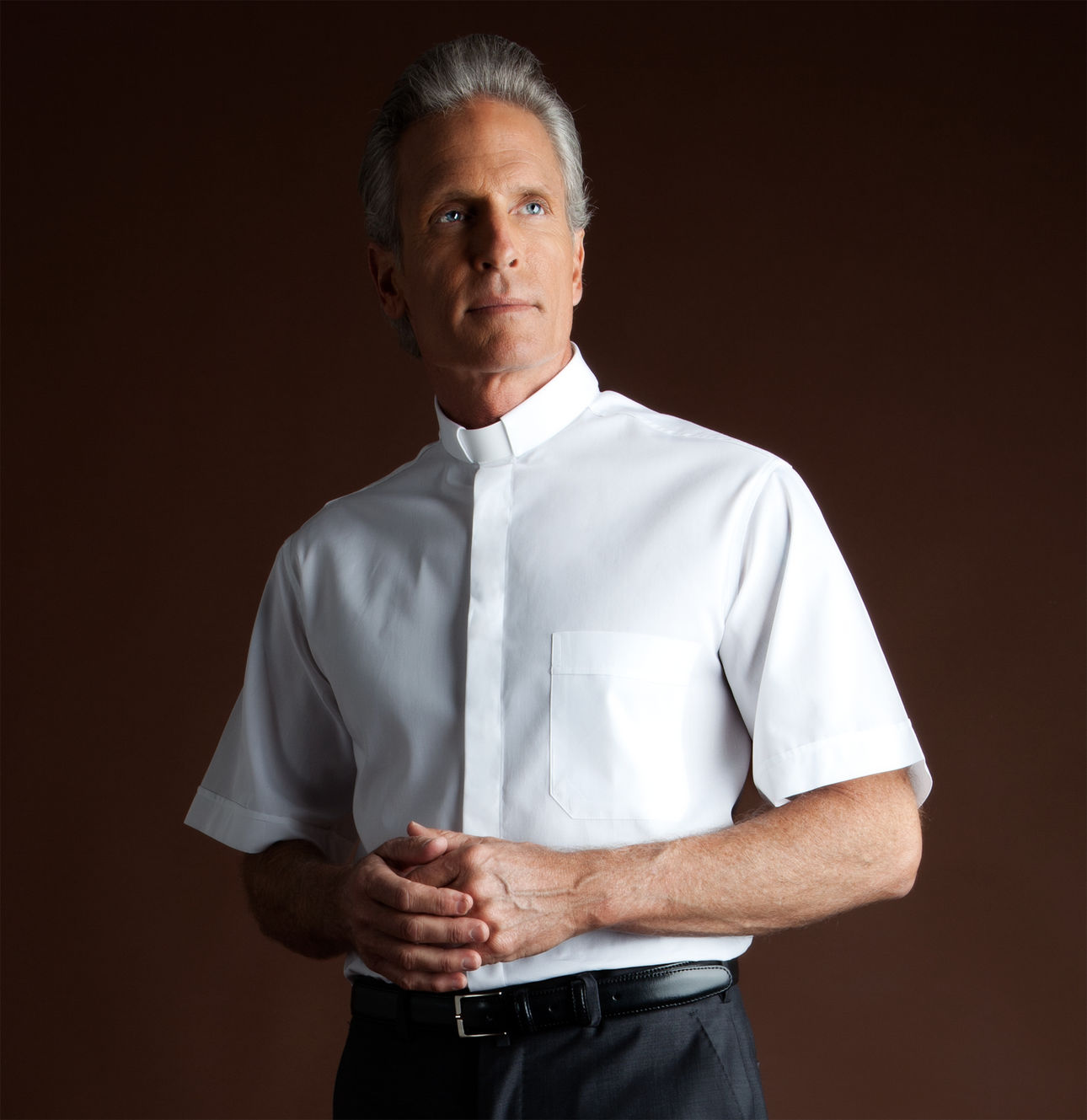 Poly Cotton Short Sleeve Clergy Shirt | Desta