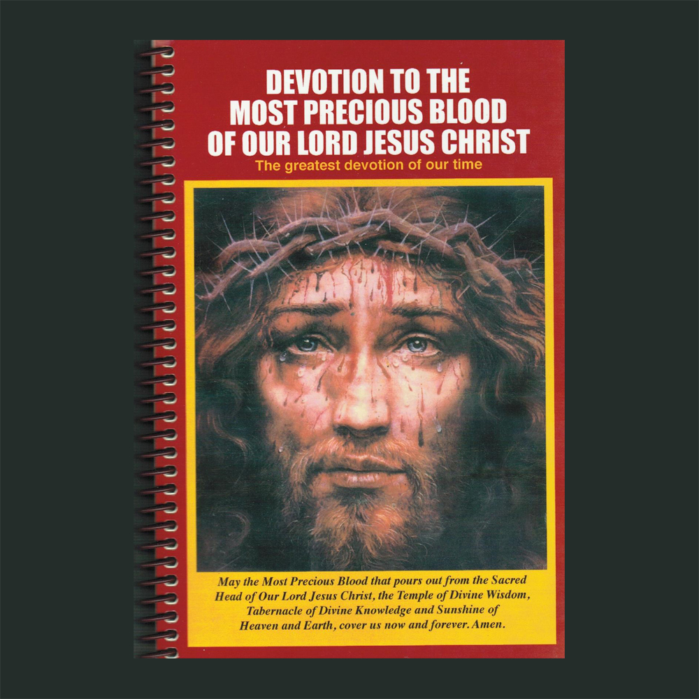 Devotion To The Most Precious Blood Of Our Lord Jesus