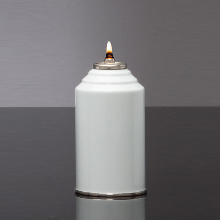 Disposable Oil Burning Candle | 70 Hour | Case of 12 | Metal