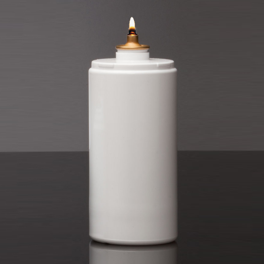Oil Burning Sanctuary Candle | Disposable | 170 HR | Case of 12