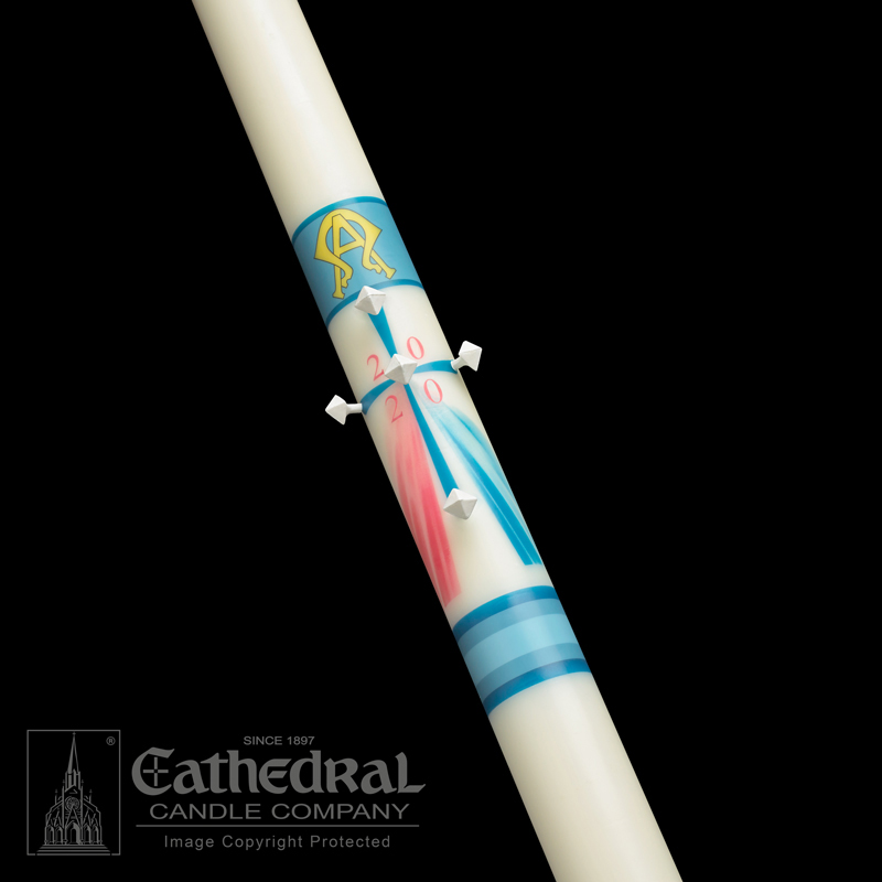 Paschal Candle | Divine Mercy | Classic