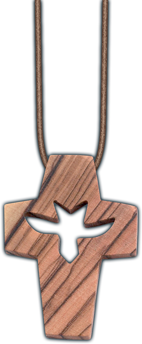 Dove of Peace Cross Pendant