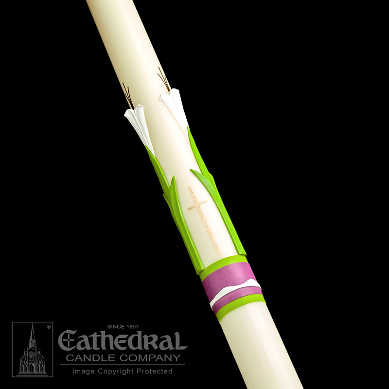 Paschal Candle | Easter Glory | Sculptwax