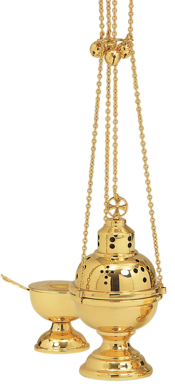 Eastern Rite Censer and Boat | Thurible | K501