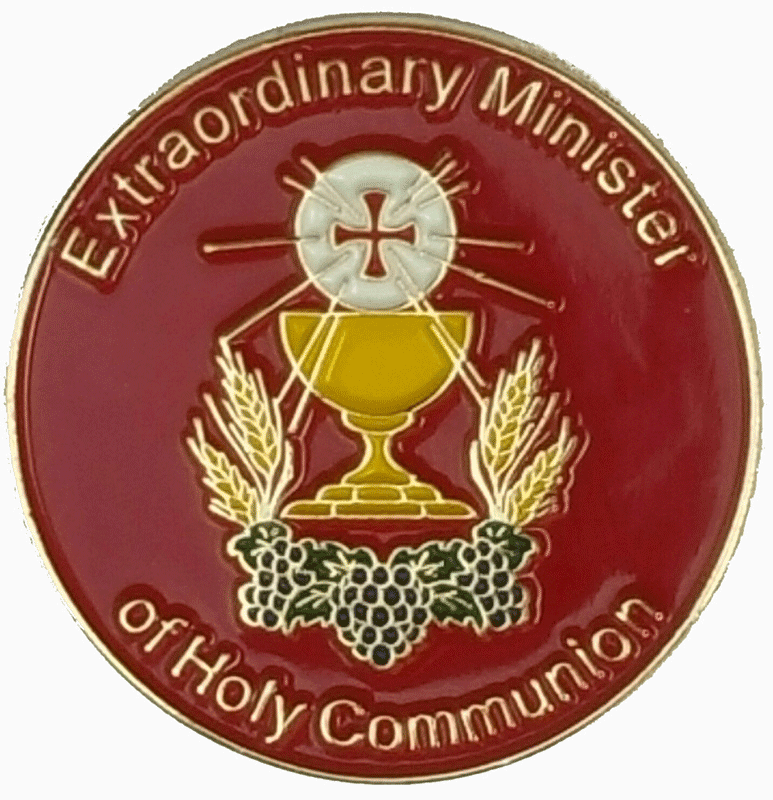 Extraordinary Minister of Holy Communion Lapel Pin