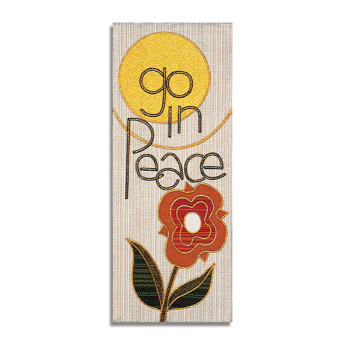Go In Peace Tapestry