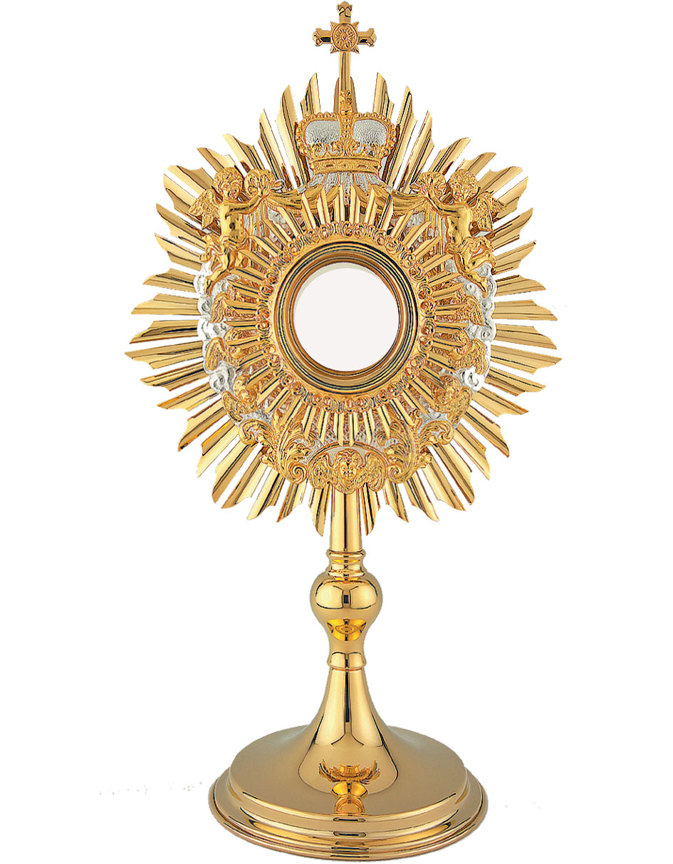 Monstrance | Ostensorium | Baroque Angel