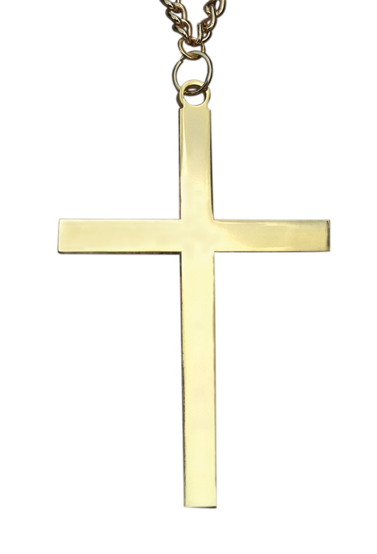 Gold Plated Pectoral Cross | 1595