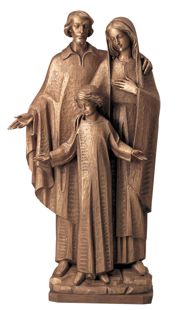 Holy Family Statue | Demetz