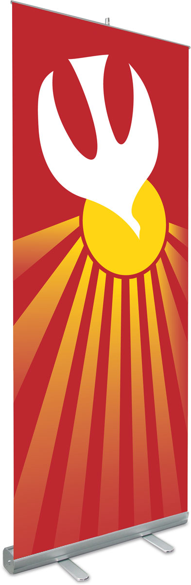 Holy Spirit Roll Up Banner