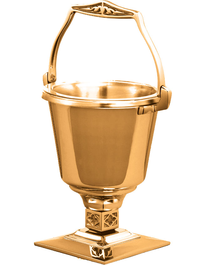 Holy Water Bucket and Sprinkler | 408-29