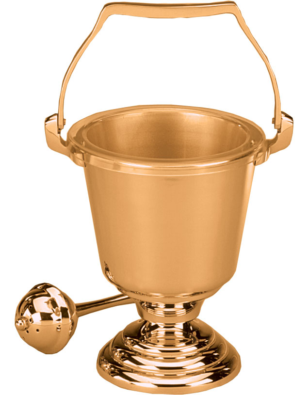 Holy Water Bucket and Sprinkler | 444-29