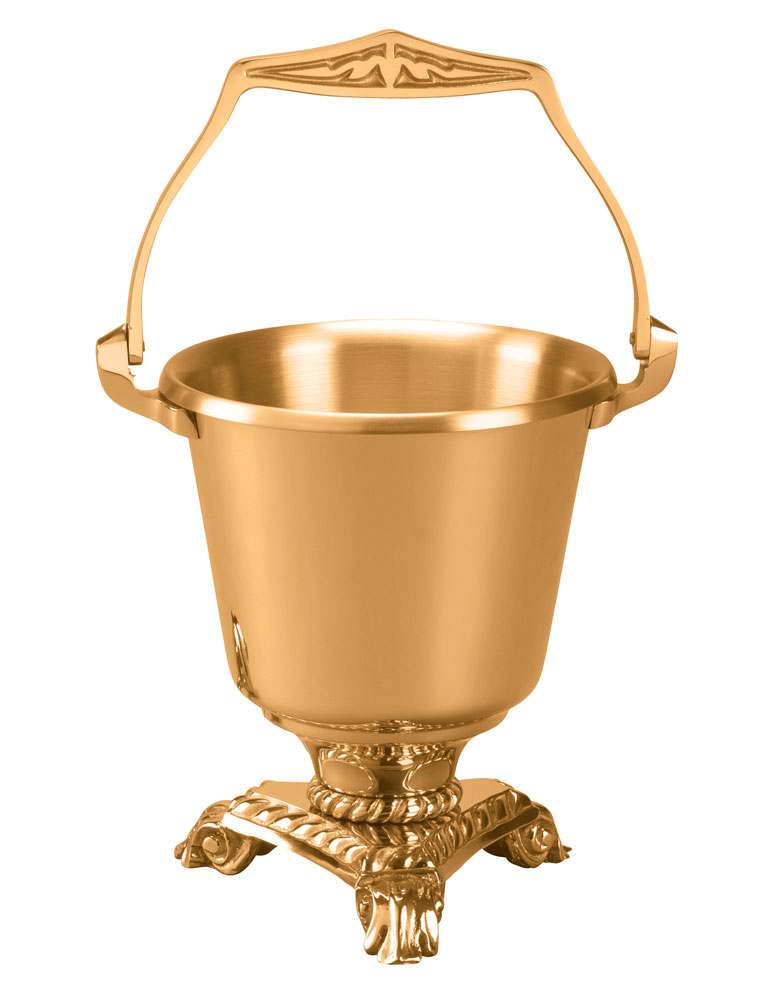 Holy Water Bucket and Sprinkler | 466-29