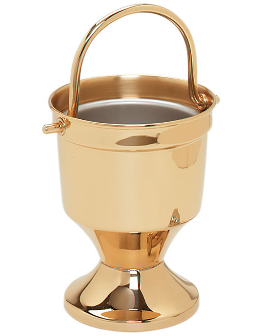 Holy Water Bucket and Sprinkler | K164