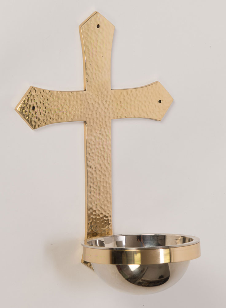 Holy Water Font | Cross Design