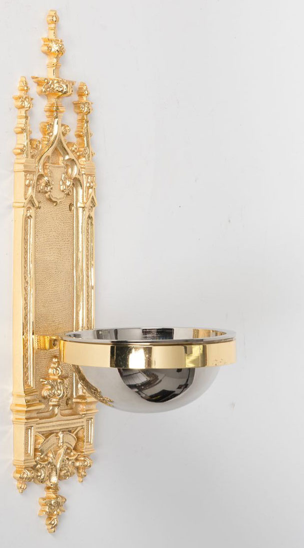 Holy Water Font | Gold Plated