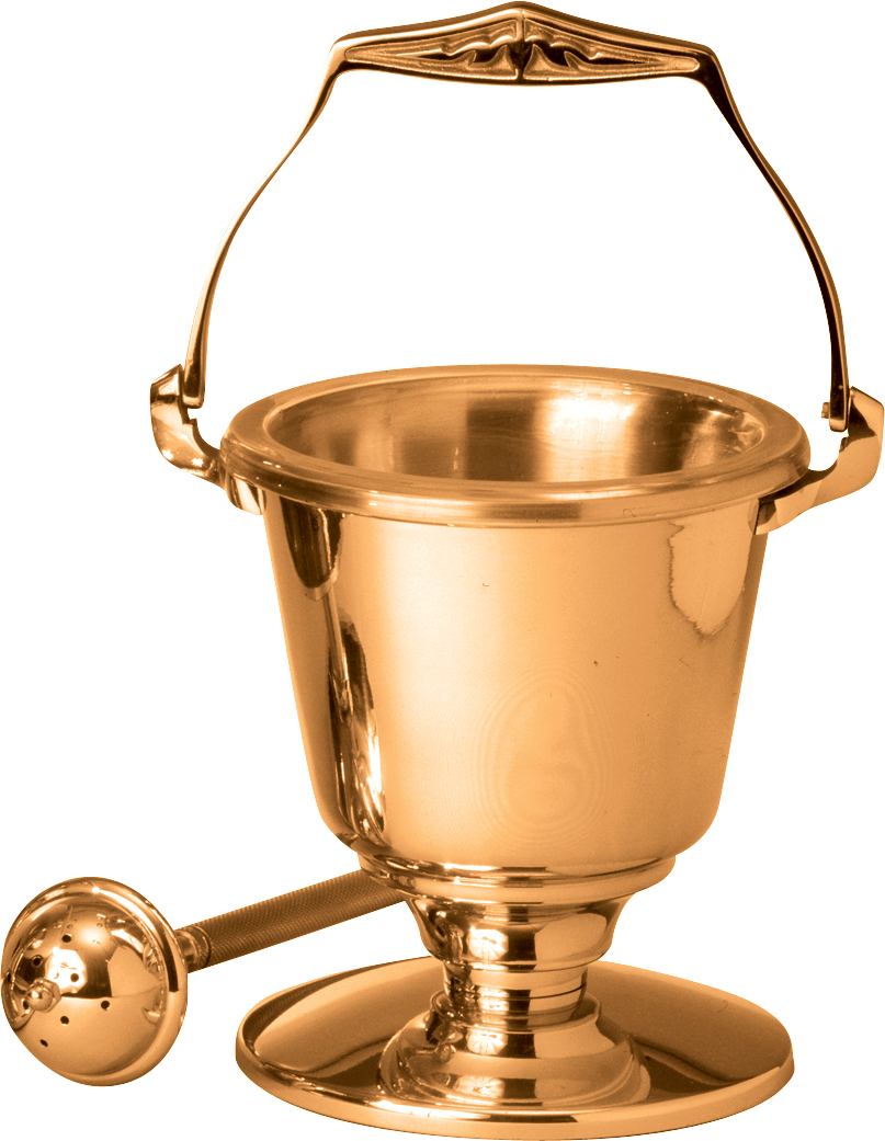Holy Water Bucket and Sprinkler | 216-29