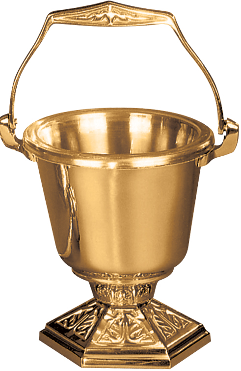 Holy Water Bucket and Sprinkler | 242-29