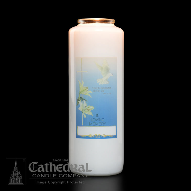 All Souls Day | In Loving Memory Memorial Candle