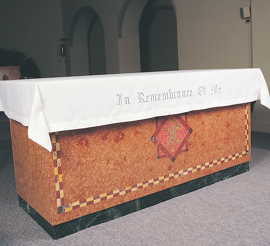Communion Table Cloth | In Remembrance of Me