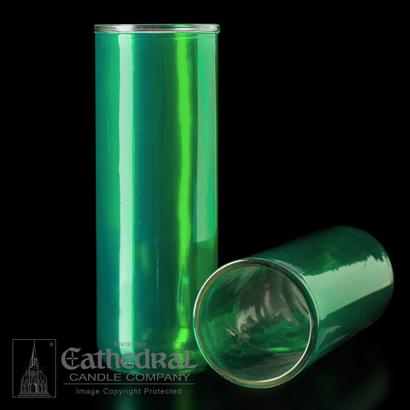 Inserta Lite Glass Globe | 5-6-7 Day | Green
