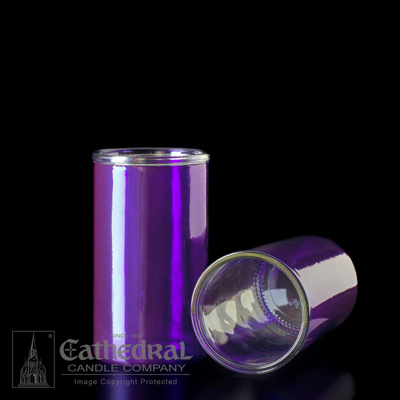 Inserta Lite Glass Globe | 3 Day | Purple