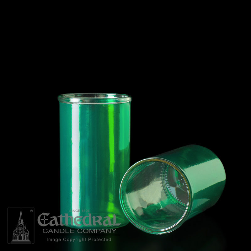 Inserta Lite Glass Globe | 3 Day | Green