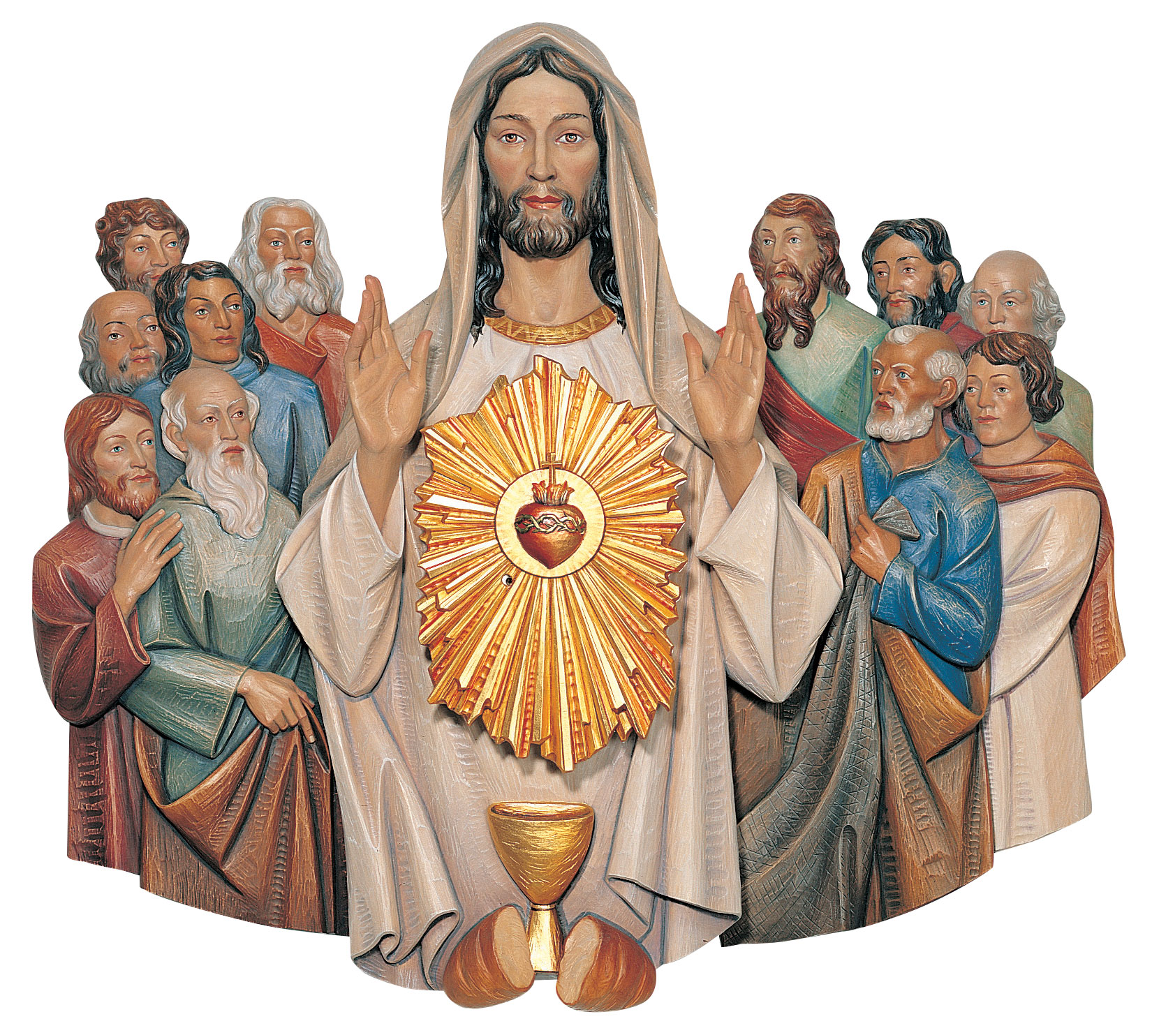 Jesus with the Apostles Tabernacle | Demetz