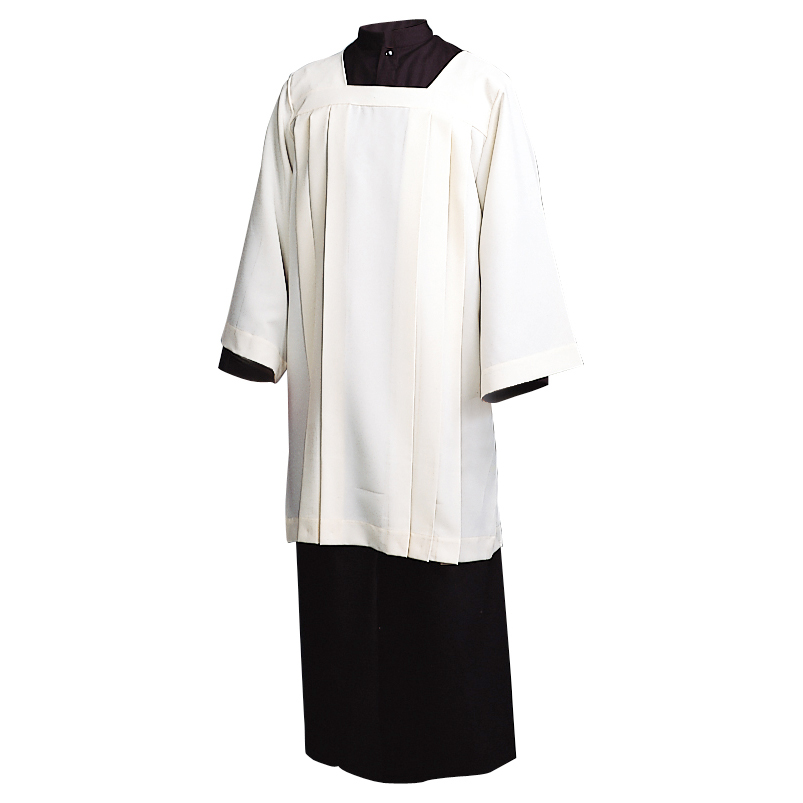 Ecumenical Knee Length Surplice | Poly Cotton | 360