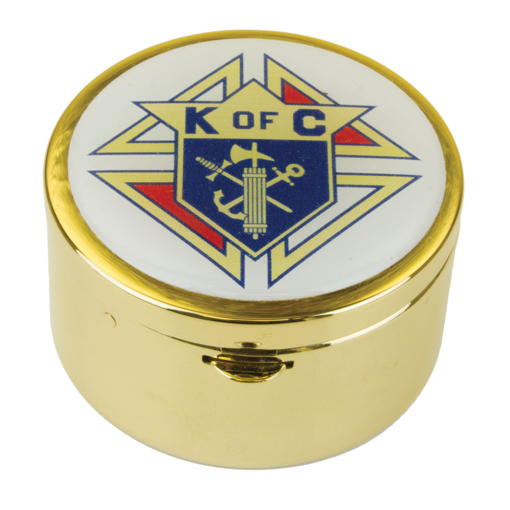 Communion Pyx | Knights of Columbus |  Host Capacity