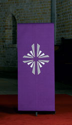 Lectern Cover - Cross