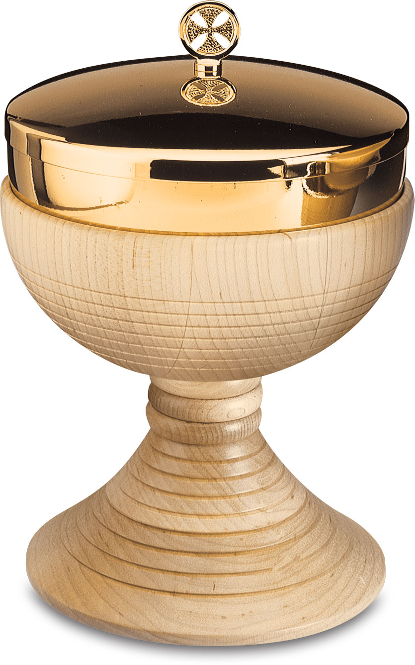 Maple Wood Ciborium