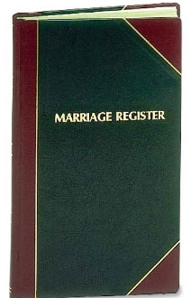 Marriage Record Book | Register | 1000 entries | #101