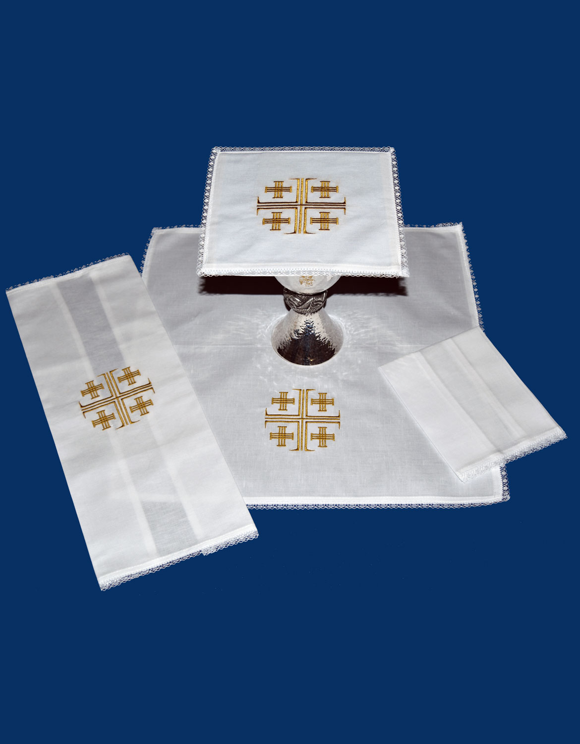 Mass Linen Set | Jerusalem Cross