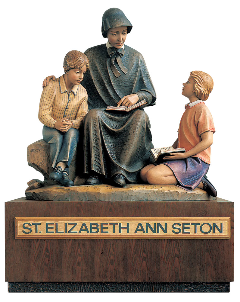 Mother Seton Statue | Demetz