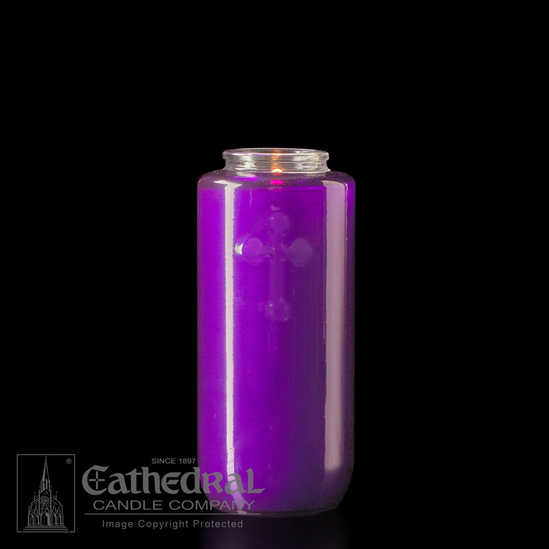 Offering Candle | 5 Day | Purple