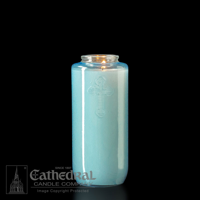 Offering Candle | 5 Day | Light Blue