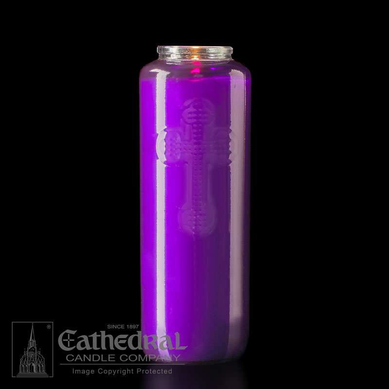 Offering Candle | 6 Day | Purple