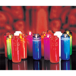 Glass Offering Candles - 5 & 6 Day