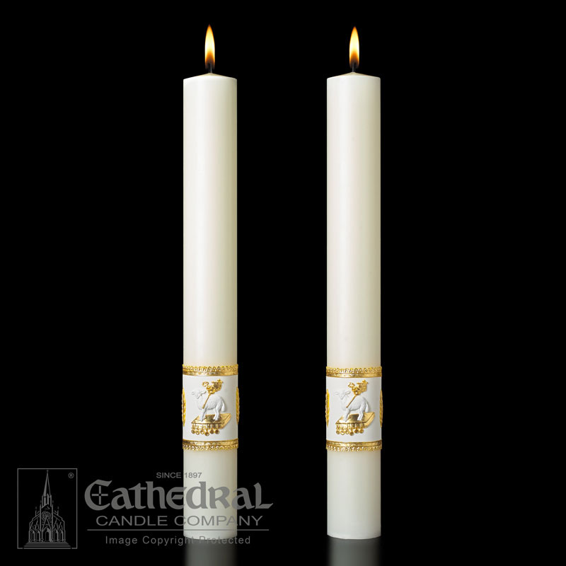 Altar Candle - Ornamented