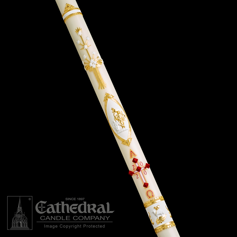 Paschal Candle | Ornamented | Classic