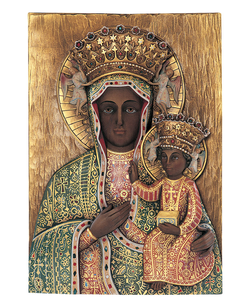 Our Lady of Czestochowa Statue | Demetz