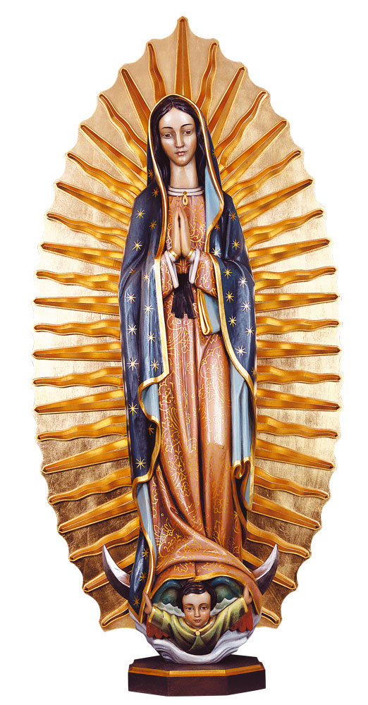 Our Lady of Guadalupe Statue | Demetz
