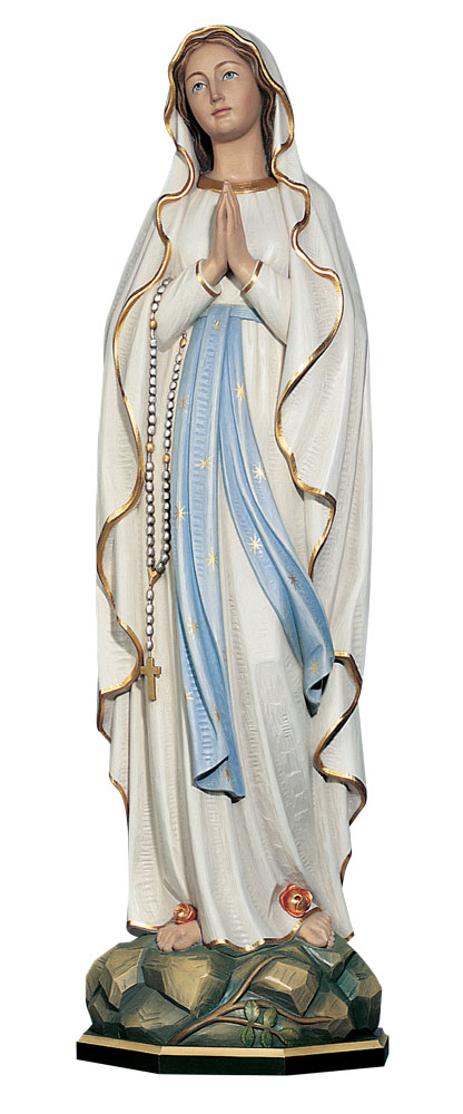 Our Lady of Lourdes Statue | Demetz