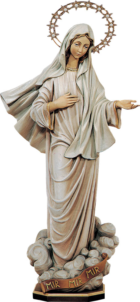 Our Lady of Medjugorje Statue | Demetz