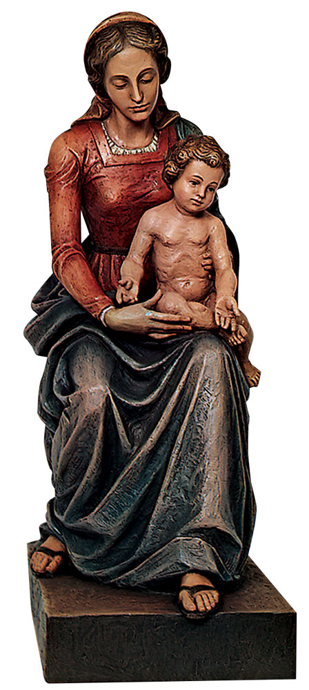 Our Lady with Child Statue | Demetz